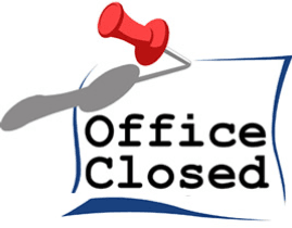 office closed pres