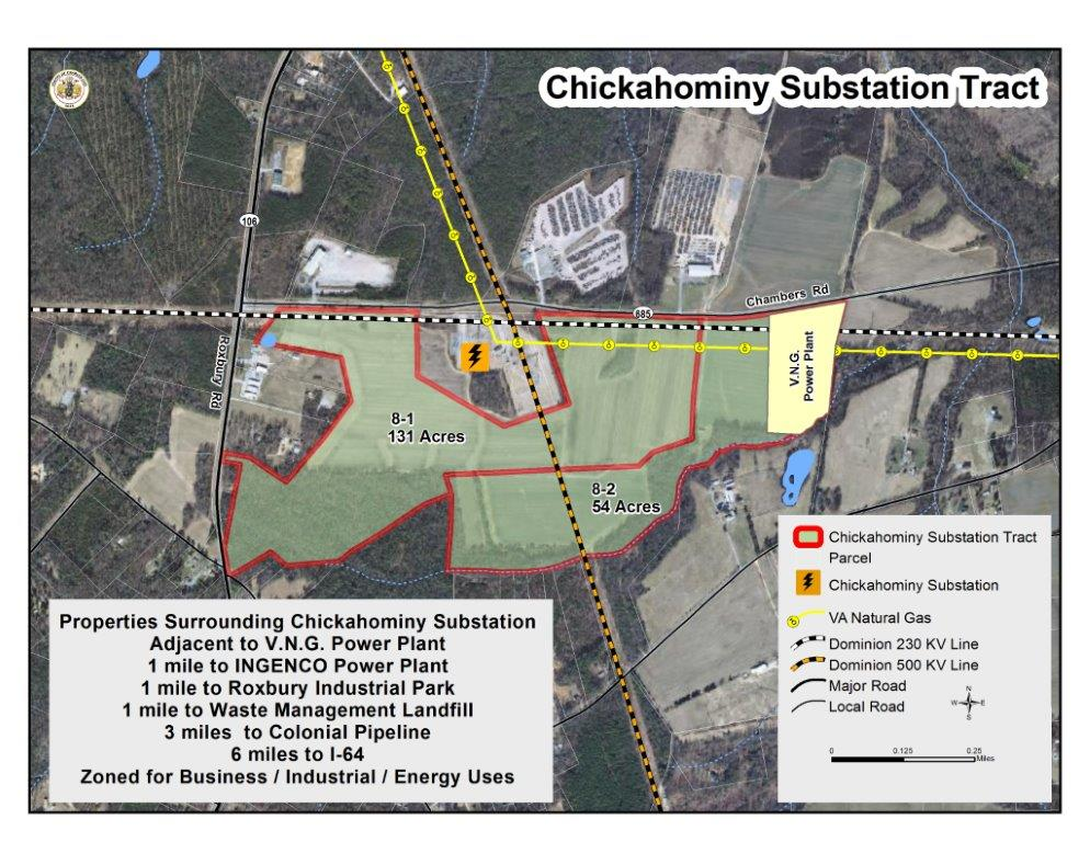 Chickahominy Substation Tract